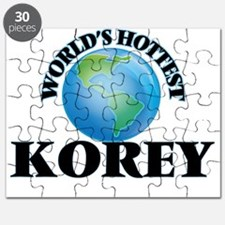 World's Hottest Korey Puzzle