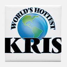 World's Hottest Kris Tile Coaster