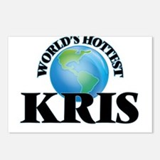 World's Hottest Kris Postcards (Package of 8)