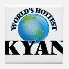 World's Hottest Kyan Tile Coaster