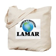 World's Hottest Lamar Tote Bag