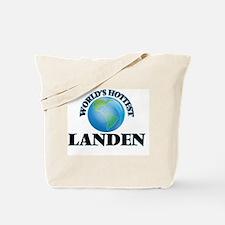 World's Hottest Landen Tote Bag