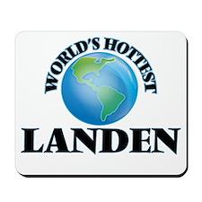 World's Hottest Landen Mousepad