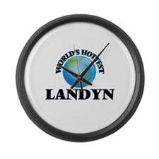 World's Hottest Landyn Large Wall Clock