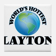 World's Hottest Layton Tile Coaster