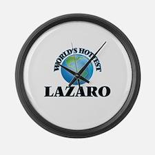 World's Hottest Lazaro Large Wall Clock