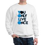 YOLO Blue Sweatshirt