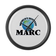 World's Hottest Marc Large Wall Clock