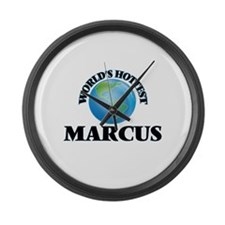 World's Hottest Marcus Large Wall Clock