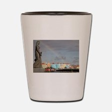 Curacao Rainbow Shot Glass