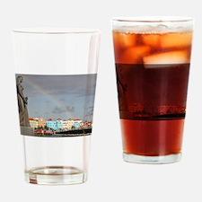Curacao Rainbow Drinking Glass