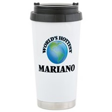 World's Hottest Mariano Travel Mug