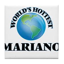 World's Hottest Mariano Tile Coaster