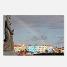 Curacao Rainbow Postcards (Package of 8)