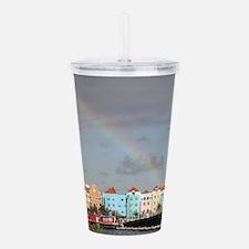 Curacao Rainbow Acrylic Double-wall Tumbler