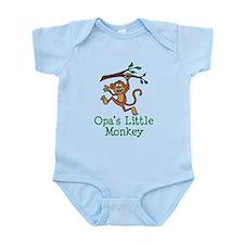 Opa's Little Monkey Body Suit