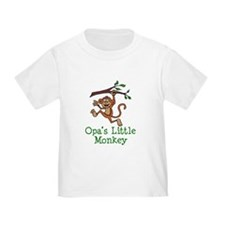 Opa's Little Monkey T-Shirt