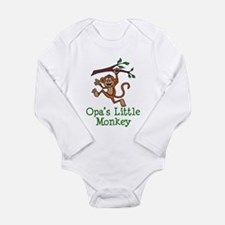 Opa's Little Monkey Body Suit