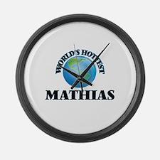World's Hottest Mathias Large Wall Clock