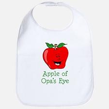 Apple of Opa's Eye Bib