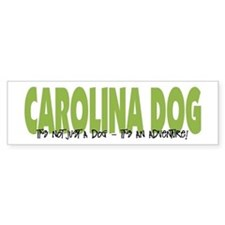 Carolina Dog IT'S AN ADVENTURE Bumper Car Sticker