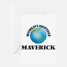 World's Hottest Maverick Greeting Cards