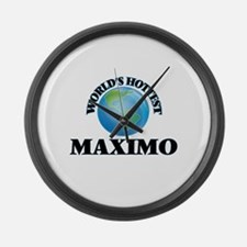 World's Hottest Maximo Large Wall Clock