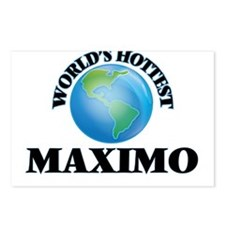 World's Hottest Maximo Postcards (Package of 8)