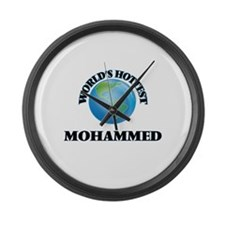 World's Hottest Mohammed Large Wall Clock