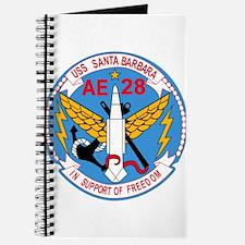 AE-28 USS Santa Barbara Ammunition Ship Mi Journal