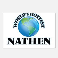 World's Hottest Nathen Postcards (Package of 8)