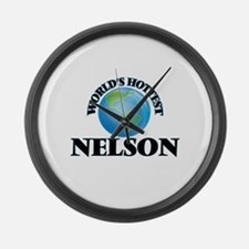 World's Hottest Nelson Large Wall Clock