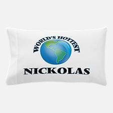 World's Hottest Nickolas Pillow Case