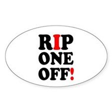 RIP ONE OFF! Decal