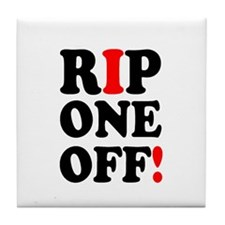 RIP ONE OFF! Tile Coaster