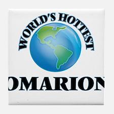 World's Hottest Omarion Tile Coaster