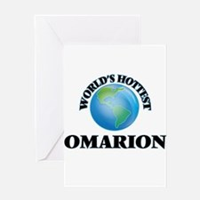 World's Hottest Omarion Greeting Cards