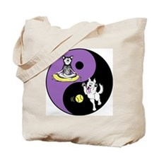 Cute Crazy dog Tote Bag