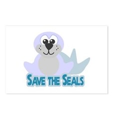 Save the Seals Postcards (Package of 8)