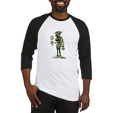 Hipster Zombie Baseball Jersey