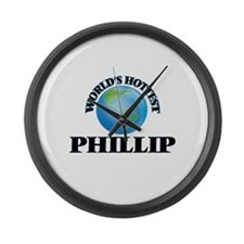 World's Hottest Phillip Large Wall Clock