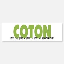 Coton IT'S AN ADVENTURE Bumper Bumper Bumper Sticker