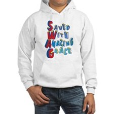 SWAG - saved with amazing grace Hoodie