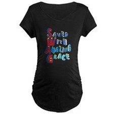 SWAG - saved with amazing grace Maternity T-Shirt