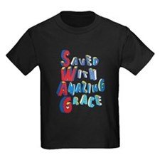 SWAG - saved with amazing grace T-Shirt