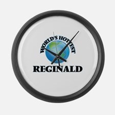 World's Hottest Reginald Large Wall Clock