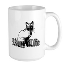 Rug Life - Gangsta Cat Mug