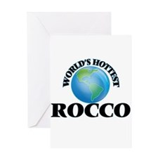 World's Hottest Rocco Greeting Cards