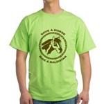 Ride A Maldivian Green T-Shirt