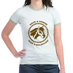 Ride A Maldivian Jr. Ringer T-Shirt